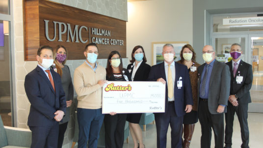 Rutter's Makes Donation to Assist Cancer Patients