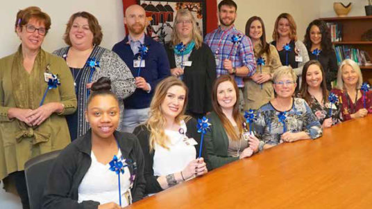 Participate in Pinwheels for Prevention During Child Abuse Awareness Month in April
